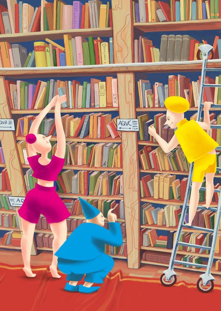 Neulich in der Stadtbibliothek
